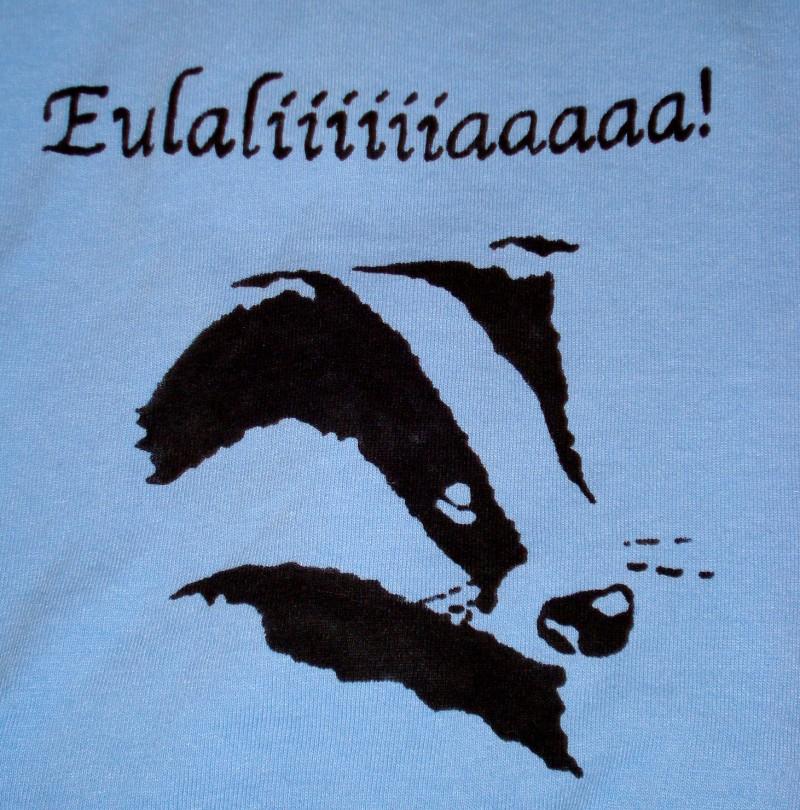 Redwall stenciled t-shirt