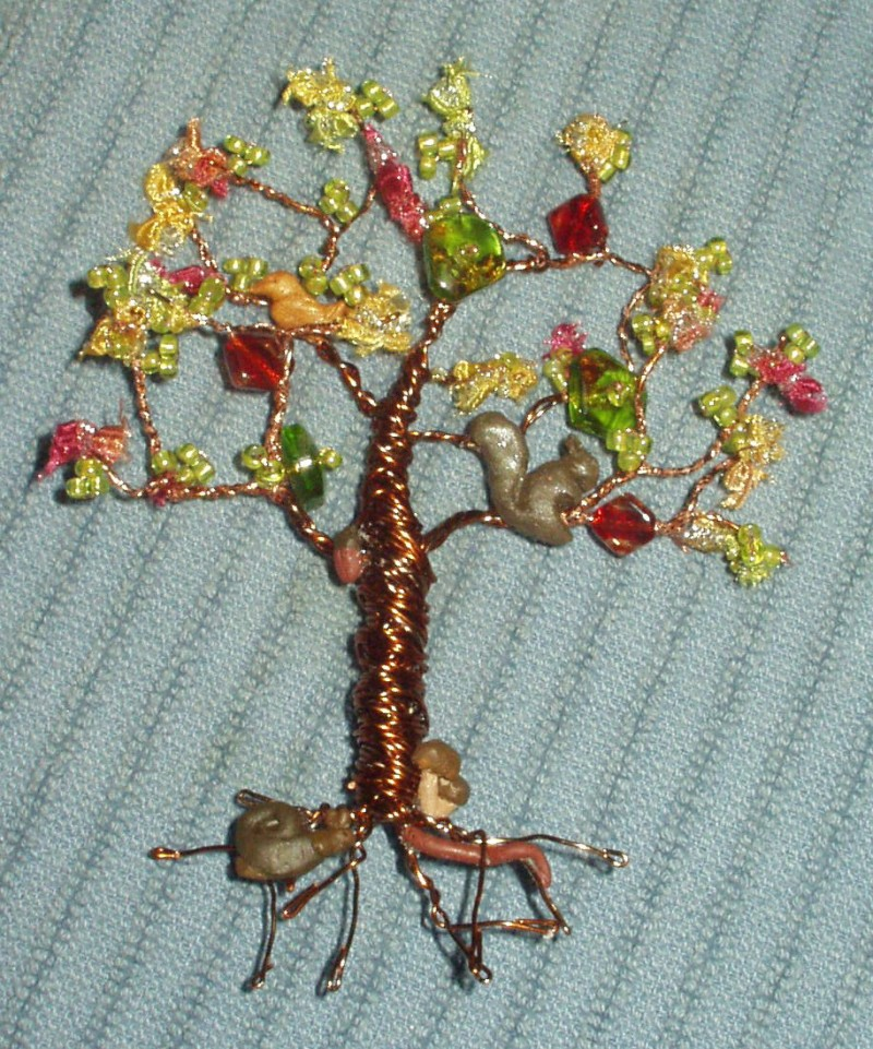 wire tree pin