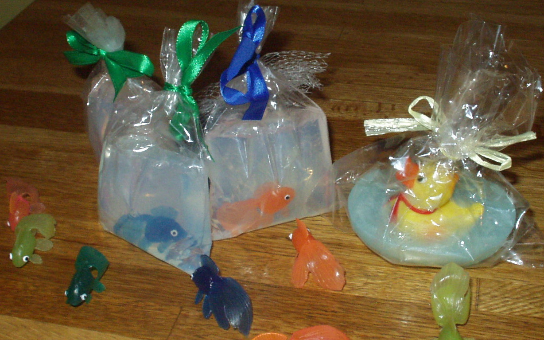goldfish soaps