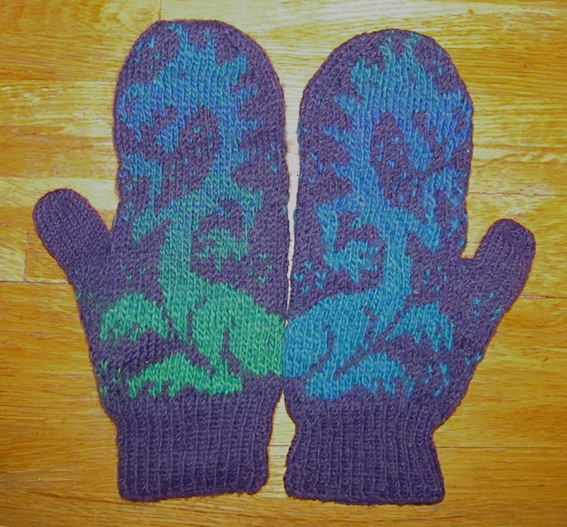 Dragon Paws Mittens